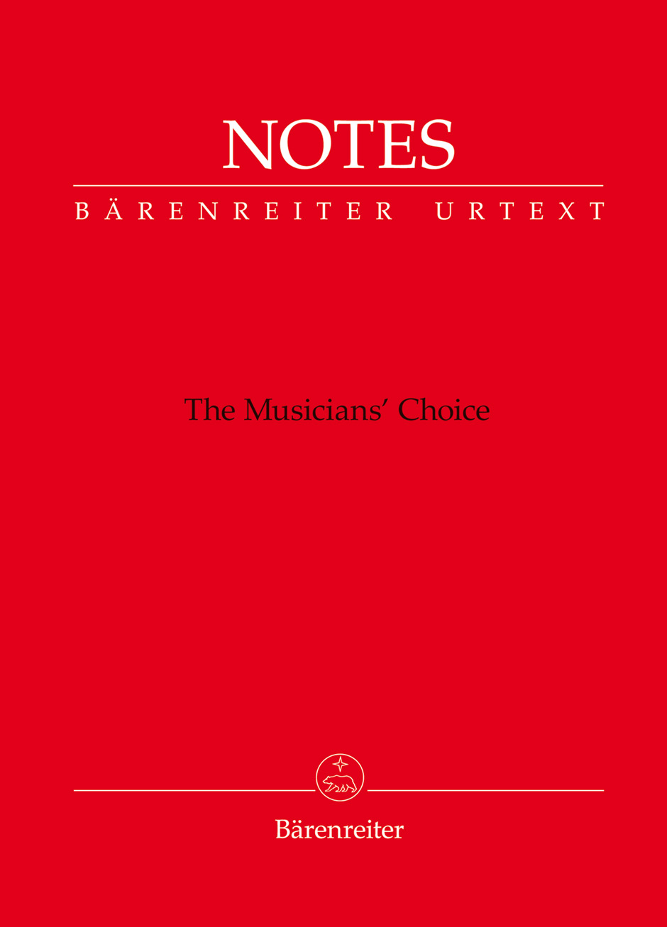 Barenreiter Notes   Import