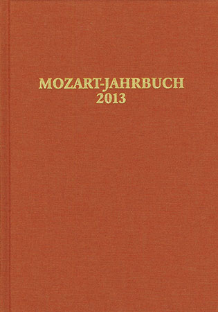 Mozart Yearbook 2013