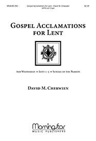 Gospel Acclamations for Lent