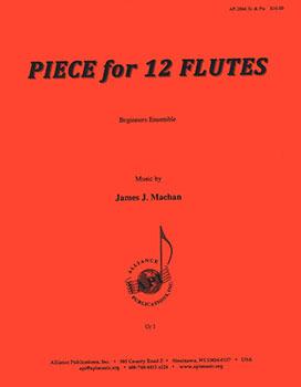 Piece for 12 Flutes