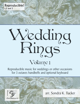Wedding Rings handbell sheet music cover