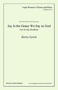 Joy Is the Grace We Say to God