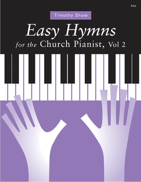 Easy Hymns for the Church Pianist Cover