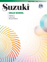 Suzuki Cello School, Vol. 4
