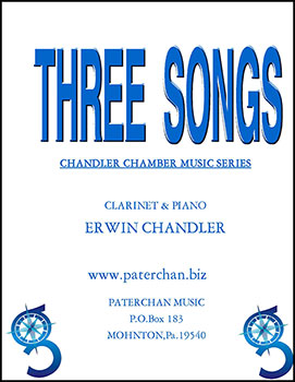 There Songs for Clarinet and Piano