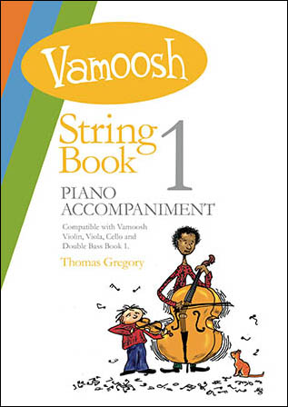 Vamoosh String Books- Piano Accompaniments