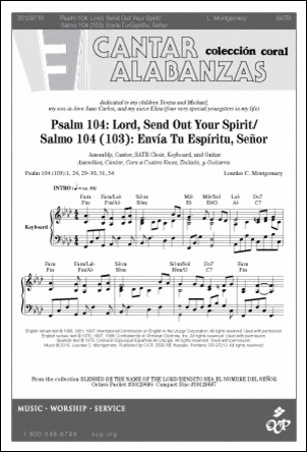 Psalm 104 : Lord Send Out Your Spirit