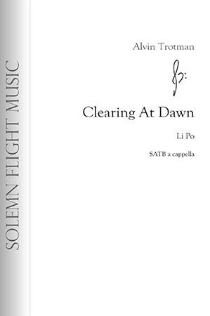 Clearing at Dawn