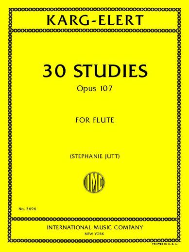30 Studies, Op. 107