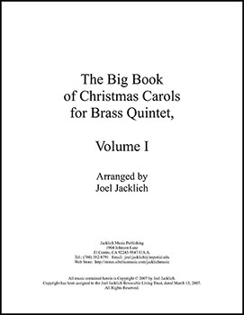 The Big Book of Christmas Carols for Brass Quintet, Vol. 1