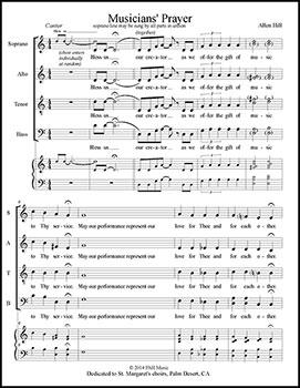 Musicians' Prayer
