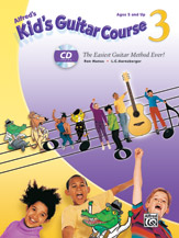 Alfred's Kid's Guitar Course, Vol. 3