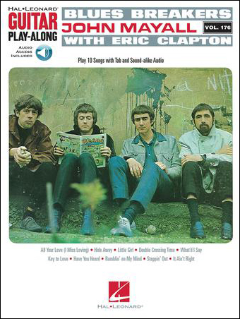 Guitar Play Along No. 176 Blues Breakers John Mayall with Eric Clapton