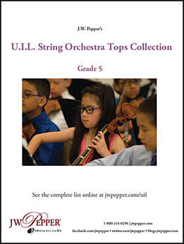 UIL String Orchestra Collection Tops - 2015
