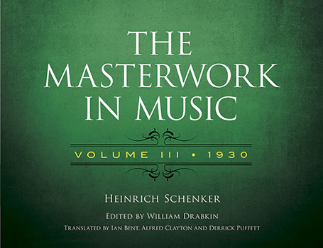The Masterwork in Music, Vol. 3: 1930