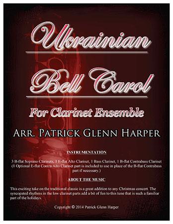 Ukrainian Bell Carol for Clarinet Ensemble