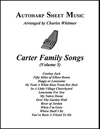 Carter Family Songs, Vol. 5