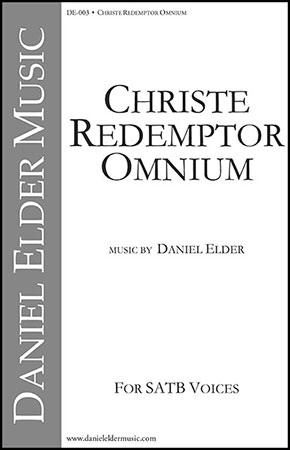 Christe Redemptor Omnium