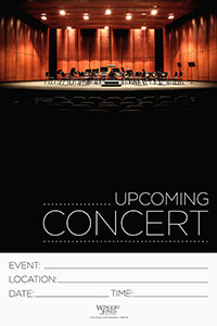 Instrumental Performance Poster