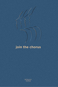 Choral Recruitment Poster