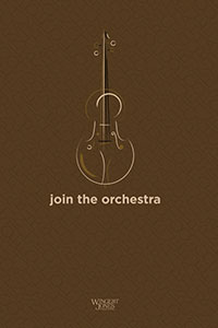 Orchestra Recruitment Poster