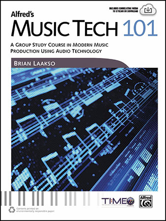 Alfred's Music Tech 101 classroom sheet music cover