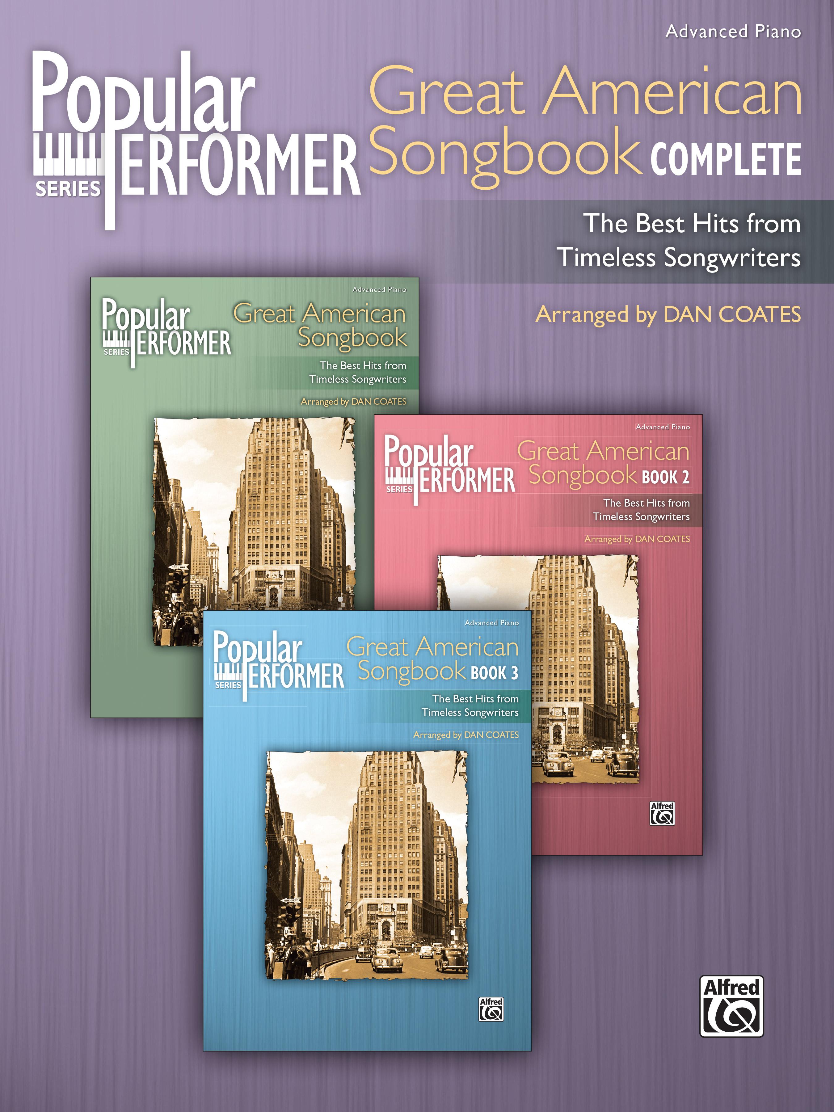 Popular Performer Great America Songbook Complete
