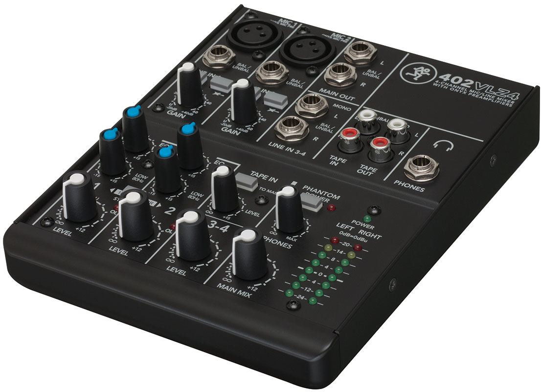 Mackie VLZ4 Series Compact Mixer pro audio image