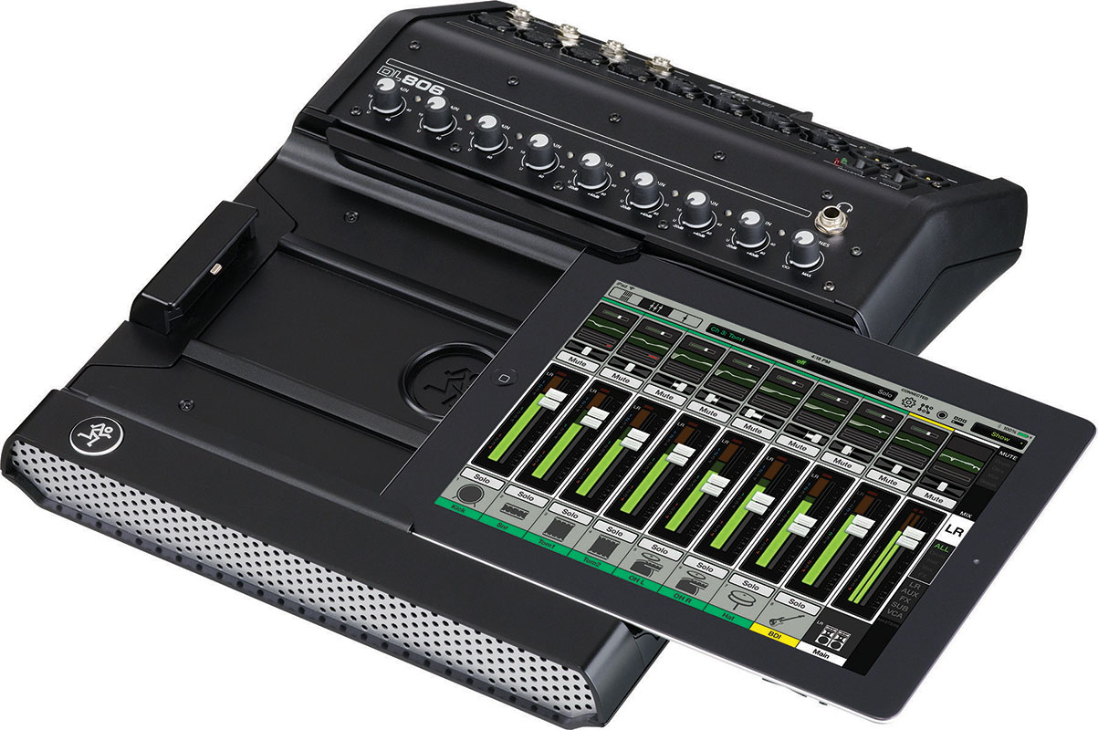 Mackie DL Series Digital Mixer with iPad Control