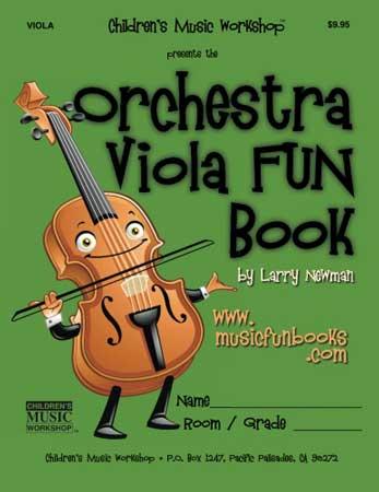 The Orchestra Viola FUN Book Cover