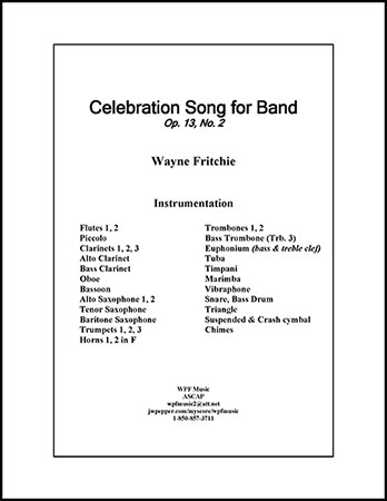 Celebration Song for Band