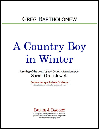 A Country Boy in Winter Thumbnail