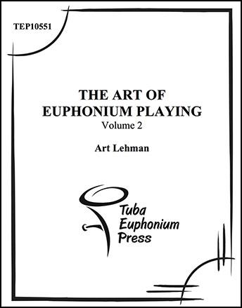 Volume #2 The Art of the Euphonium