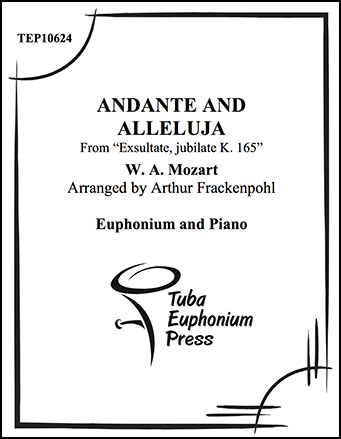 Andante and Alleluja
