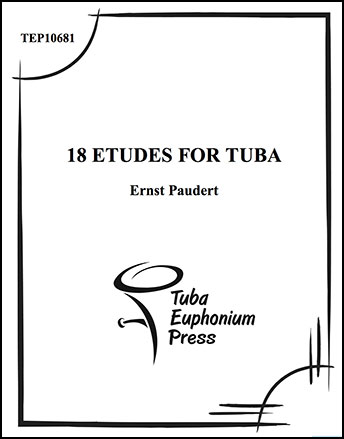 18 Etudes for Tuba