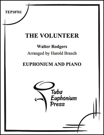 The Volunteer (Euphonium Solo with Piano&nbs | J W  Pepper Sheet Music