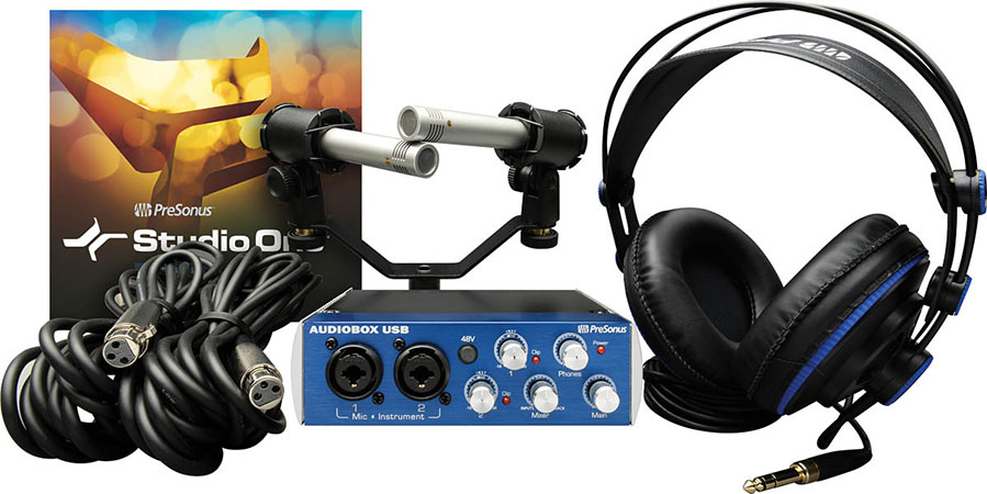 AudioBox Stereo Recording Bundle