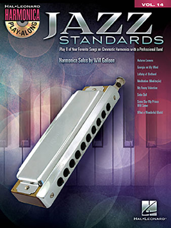 Harmonica Play-along No.14 Jazz Standards