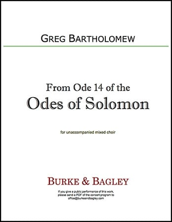 From Ode 14 of the Odes of Solomon Thumbnail