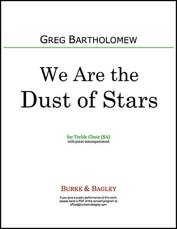 We Are the Dust of Stars