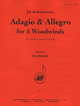 Adagio and Allegro for Five Woodwinds