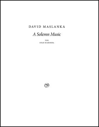 A Solemn Music