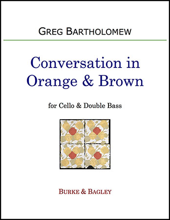 Conversation in Orange & Brown