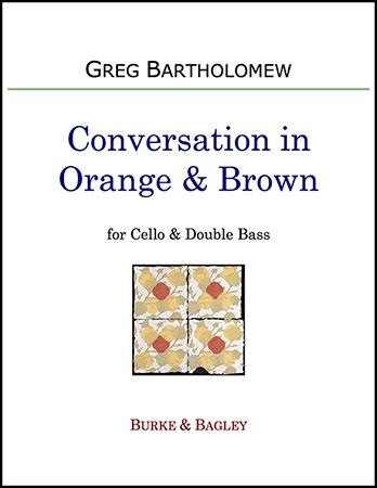 Conversation in Orange & Brown