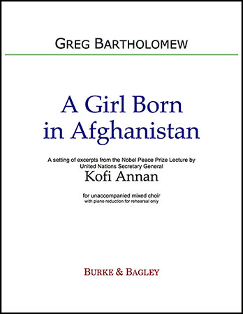 A Girl Born in Afghanistan
