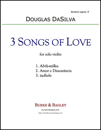 Three Songs of Love