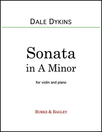 Sonata in A Minor for Violin & Piano