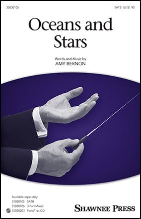 Oceans and Stars choral sheet music cover