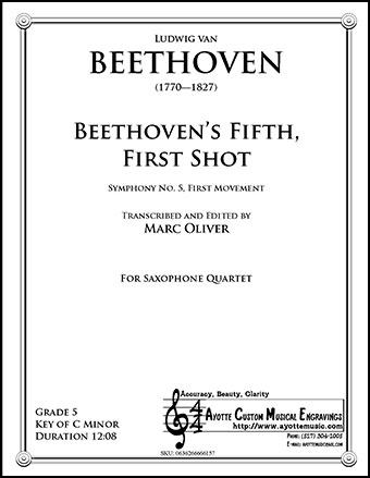 Beethoven's Fifth, First Shot