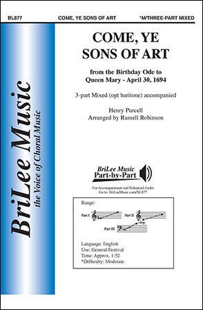 Come, Ye Sons of Art Thumbnail